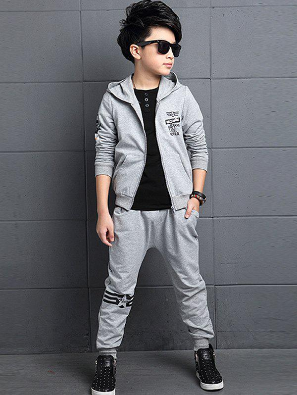New Graphic Printed Hoodie + Jogger Pants Sportive Twinset