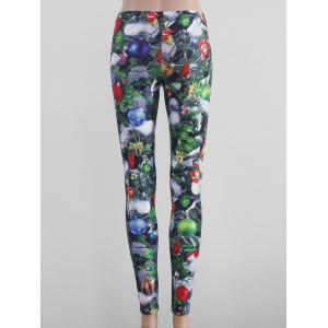 Tight Fit Printed Leggings - COLORMIX XL