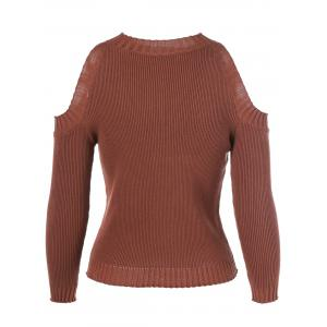 Cut Out Pullover Sweater -
