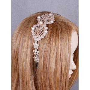 Faux perle bowknot coeur d'amour Hairband -