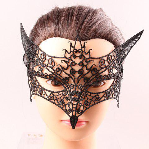 Black Lace Hollow Out Half Face Masks