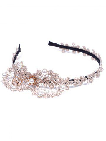 Faux perle bowknot coeur d'amour Hairband