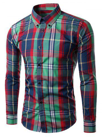 Best Long Sleeve Plaid Button-Down Shirt