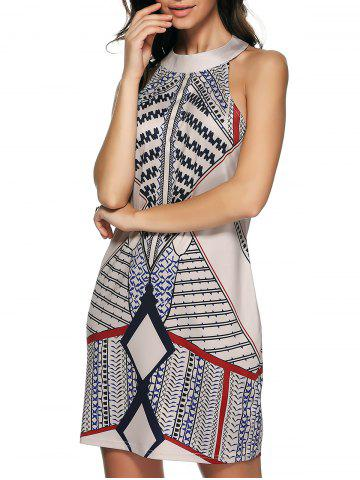 Buy Vintage Printed A-Line Dress