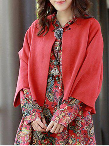 Outfit Bat-Wing Sleeve Vintage Cardigan