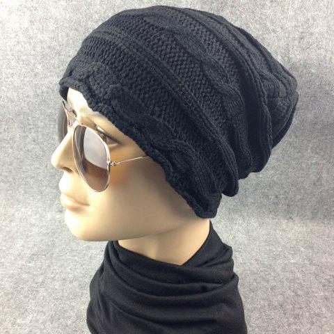 New Traverse Hemp Flowers Knitted Slouchy Beanie