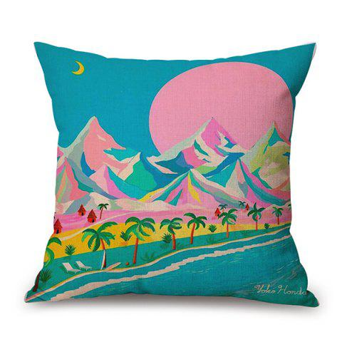 Unique Hills River Landscape Home Decor sofa Pillow Case