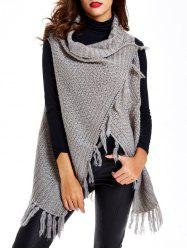 Tassels Sleeveless Cardigan -