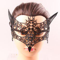 Goddess Upper Half Face Black Lace Carnival Masquerade Hollow Out Masks