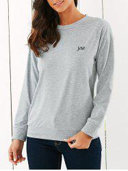 Casual Printed Sports Sweatshirt -