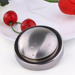 Stainless Steel Circular ElimInates Garlic Onion Smells Soap