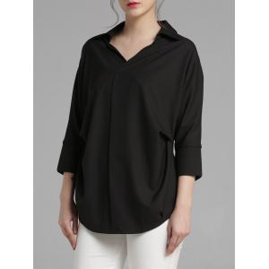 High-Low Chiffon Shirt -