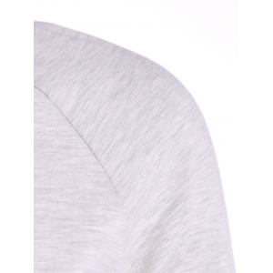 Long Sleeves T-Shirt With Back Slit -