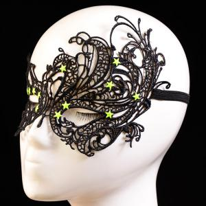Masque Pentagram élastique cheveux Party Band -