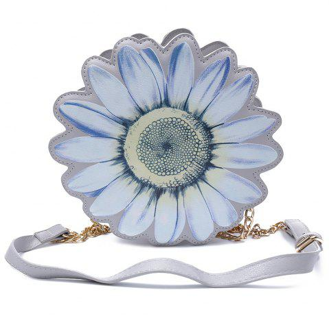 Hot Chic Flower Shape and Chains Design Crossbody Bag For Women