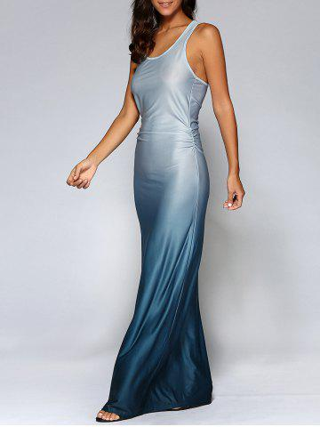 Fancy Fitting Ombre Maxi Dress