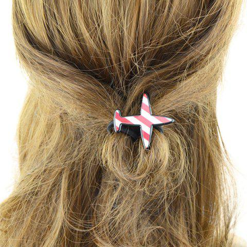 Avion Shape Elastic Band Hair