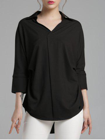 New High-Low Chiffon Shirt