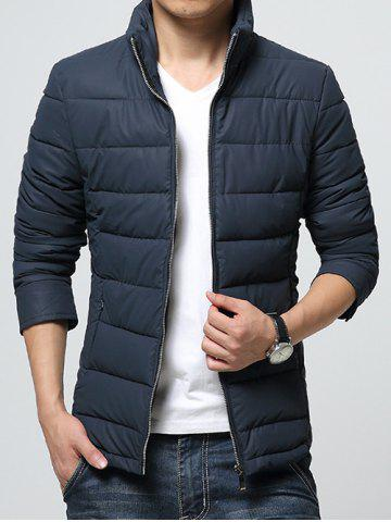 Shop Stand Collar Zip-Up Padded Jacket