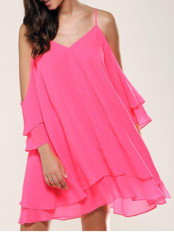 Outfit Dew Shoulder Layered Dress
