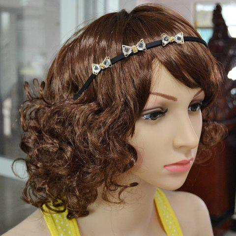 Cheap Faux Crystal Insect Hairband - BLACK  Mobile