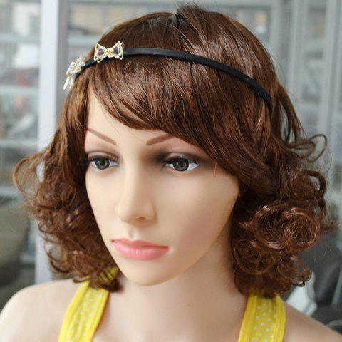 Store Faux Crystal Insect Hairband - BLACK  Mobile