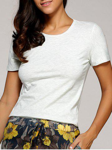 Cheap Round Neck T-Shirt