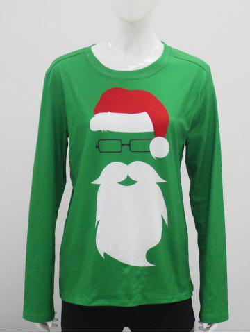 Online Santa Clause Long Sleeve T-Shirt