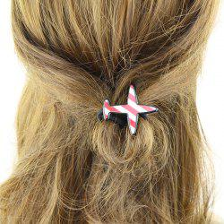 Avion Shape Elastic Band Hair - Rose Pâle