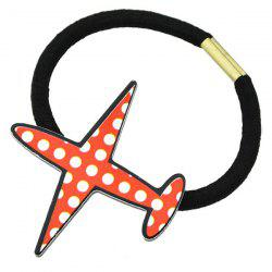 Plane Elastic Hair Band - RED