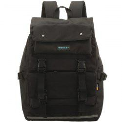 Large Buckle Straps Backpack
