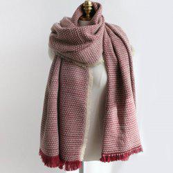 Fringed Edge Weaving Shawl Wrap Scarf -