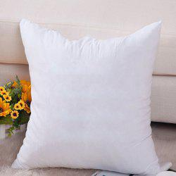 High Quality 50*50CM Comfortable Cushion Filling Pillow Inset - WHITE