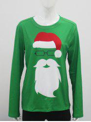 Santa Clause Long Sleeve T-Shirt -