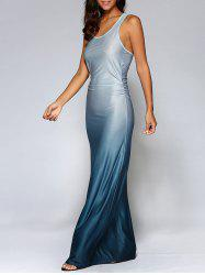 Fitting Ombre Maxi Dress