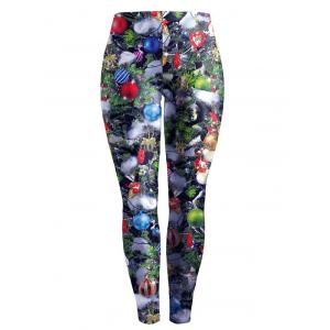 Christmas Printed Stretchy Slimming Leggings