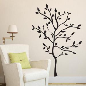 Removable Protection Small Tree Vinyl Wall Decal Stickers