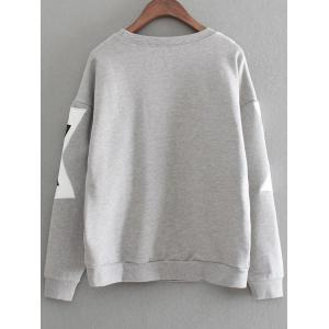 Pullover Overshirt - GRAY ONE SIZE