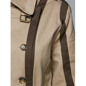 Double Breasted Trench Coat With Pockets -