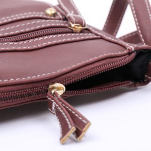 Fashionable Hasp and Solid Color Design Women's Crossbody Bag -