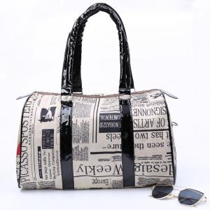 Image result for newspaper handbag