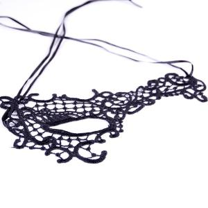 Évider Mask Party Lace Faux -