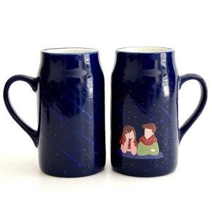 Meteor Night Lovers Magic Color Changing Mug -