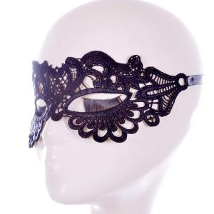 Faux Lace Hair Accessory Party Mask -