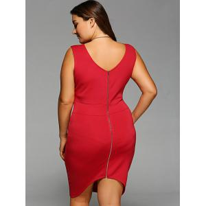 Plus Size Sleeveless Bodycon Dress -