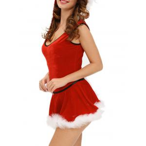 Hooded Santa Claus Costume -
