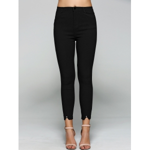 Slack Skinny Tight Fit Work Pants -
