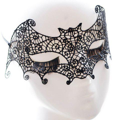 Outfit Faux Lace Bat Hallowmas Party Mask