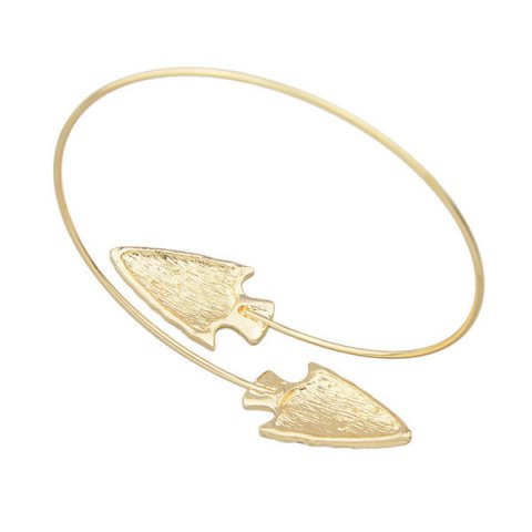 New Vintage Alloy Arrowhead Arm Chain Jewelry - GOLDEN  Mobile