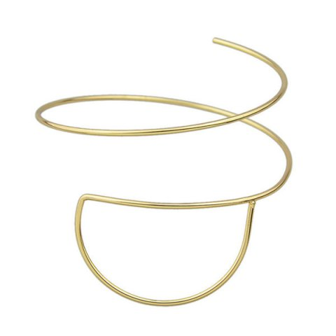 New Vintage Alloy Half Round Arm Chain Jewelry - GOLDEN  Mobile